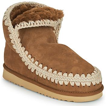 Topánky Ženy Polokozačky Mou ESKIMO 18 Hnedá