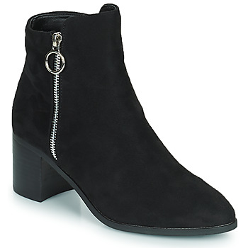 Topánky Ženy Čižmy do mesta Moony Mood PETROLIA Čierna