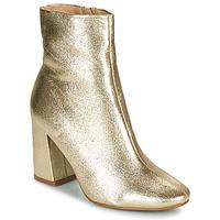 Topánky Ženy Čižmičky Moony Mood PEDROLYN Zlatá