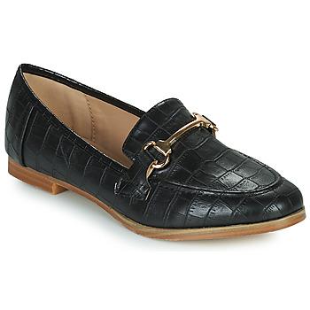 Topánky Ženy Mokasíny Moony Mood PRIVA Čierna