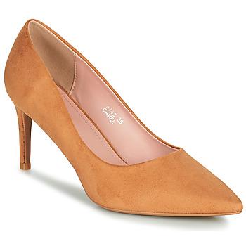 Topánky Ženy Lodičky Moony Mood PEROLINE Ťavia hnedá