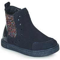 Topánky Dievčatá Polokozačky Mod'8 BLANOU Námornícka modrá