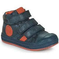 Topánky Chlapci Členkové tenisky Mod'8 TALYE Námornícka modrá / Oranžová