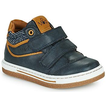 Topánky Chlapci Členkové tenisky Mod'8 KYNATOL Námornícka modrá / Žltá horčicová