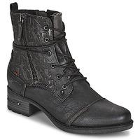 Topánky Ženy Polokozačky Mustang 1229508 Čierna
