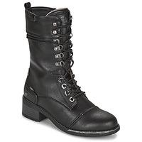 Topánky Ženy Čižmy do mesta Mustang 1402501 Čierna