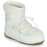 Topánky Ženy Snehule  Moon Boot MOON BOOT MONACO LOW FUR WP 2 Biela