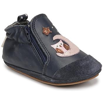 Topánky Dievčatá Detské papuče Robeez NICE OWL Námornícka modrá