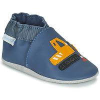 Topánky Chlapci Detské papuče Robeez YARD ROAD Modrá / Žltá