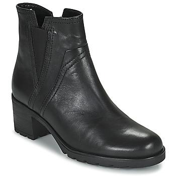 Topánky Ženy Čižmičky Gabor 7280417 Čierna