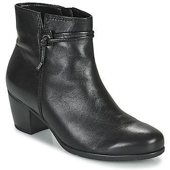 Topánky Ženy Čižmičky Gabor 7552227 Čierna