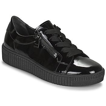 Topánky Ženy Nízke tenisky Gabor 7333497 Čierna