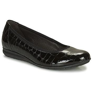 Topánky Ženy Balerínky a babies Gabor 7262087 Čierna