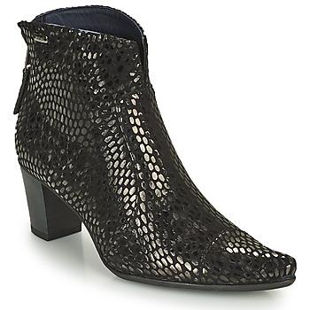 Topánky Ženy Čižmičky Dorking DEISY Čierna