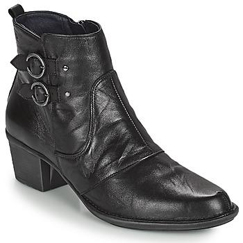 Topánky Ženy Čižmičky Dorking DALMA Čierna