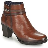 Topánky Ženy Čižmičky Dorking EVELYN Hnedá