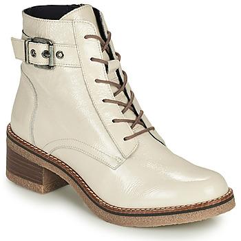 Topánky Ženy Čižmičky Dorking LUCERO Krémová