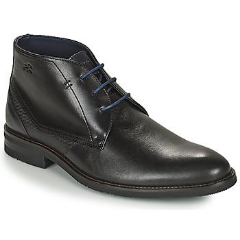 Topánky Muži Polokozačky Fluchos OLIMPO Čierna