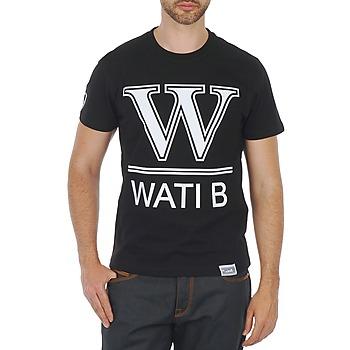Oblečenie Muži Tričká s krátkym rukávom Wati B TEE Čierna