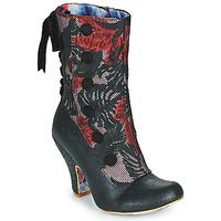 Topánky Ženy Čižmičky Irregular Choice REINETTE Čierna / Červená