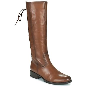 Topánky Ženy Čižmy do mesta Gabor 7160624 Hnedá