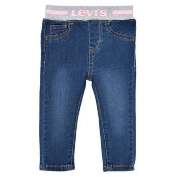 Oblečenie Dievčatá Rifle Skinny  Levi's PULL ON SKINNY JEAN Westthird / Ružová