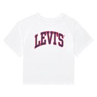 Oblečenie Dievčatá Tričká s krátkym rukávom Levi's SSRGLANHGHRISETESHIRT Biela