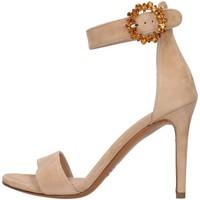 Topánky Ženy Sandále Albano 4166 BEIGE