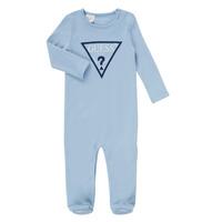 Oblečenie Chlapci Pyžamá a nočné košele Guess THEROI Modrá