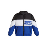 Oblečenie Chlapci Vyteplené bundy Guess THABITHA Modrá