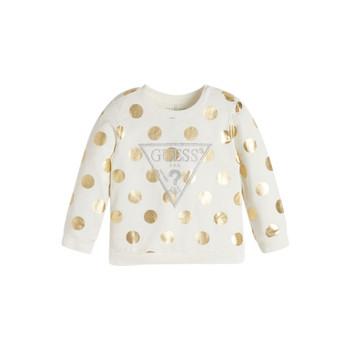 Oblečenie Dievčatá Mikiny Guess KUBLO Biela