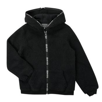 Oblečenie Chlapci Bundy  Guess THERRA Čierna