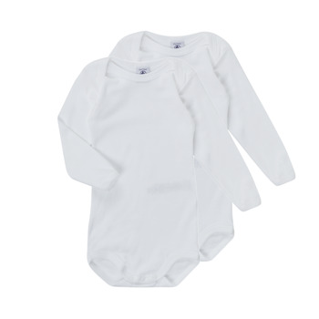 Oblečenie Deti Pyžamá a nočné košele Petit Bateau TESSA Biela