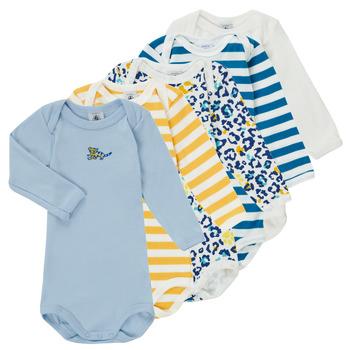 Oblečenie Chlapci Pyžamá a nočné košele Petit Bateau FEDDY Viacfarebná