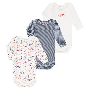 Oblečenie Dievčatá Pyžamá a nočné košele Petit Bateau FERY Viacfarebná