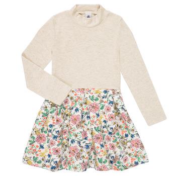 Oblečenie Dievčatá Krátke šaty Petit Bateau WESSRI Viacfarebná