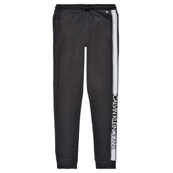 Oblečenie Chlapci Tepláky a vrchné oblečenie Calvin Klein Jeans RESPIRA Čierna