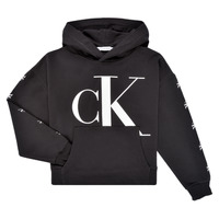 Oblečenie Dievčatá Mikiny Calvin Klein Jeans SALOMA Čierna