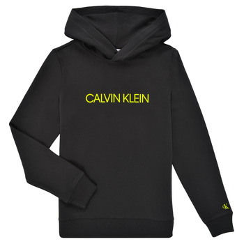 Oblečenie Deti Mikiny Calvin Klein Jeans ZOPLINA Čierna