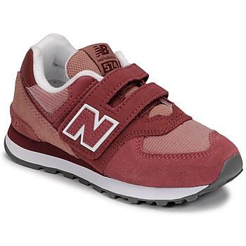 Topánky Dievčatá Nízke tenisky New Balance 574 Ružová