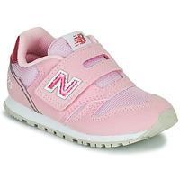 Topánky Dievčatá Nízke tenisky New Balance 373 Ružová