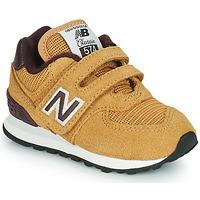 Topánky Chlapci Nízke tenisky New Balance 574 Hnedá