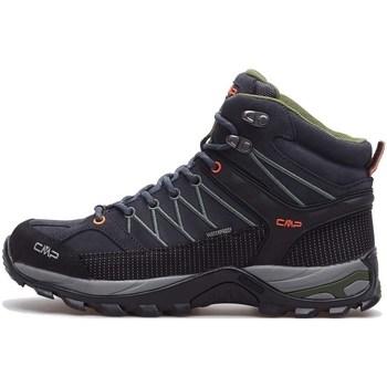 Topánky Muži Turistická obuv Cmp Rigel Mid WP Čierna