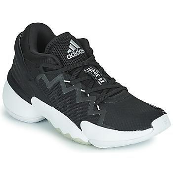 Topánky Basketbalová obuv adidas Performance D.O.N. ISSUE 2 Čierna / Biela
