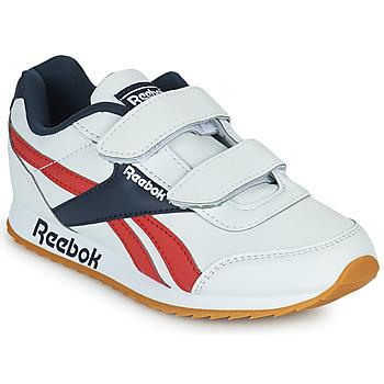 Topánky Deti Nízke tenisky Reebok Classic REEBOK ROYAL CLJOG 2 2V Biela / Námornícka modrá / Červená