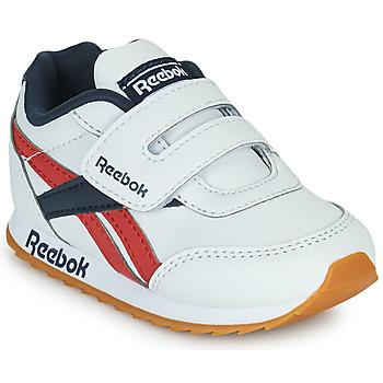 Topánky Deti Nízke tenisky Reebok Classic REEBOK ROYAL CLJOG 2  KC Biela / Námornícka modrá / Červená