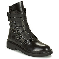 Topánky Ženy Polokozačky Mimmu MINO Čierna