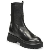 Topánky Ženy Čižmičky Mimmu VITELLO Čierna