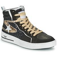Topánky Ženy Členkové tenisky Semerdjian MARAL Čierna / Zlatá