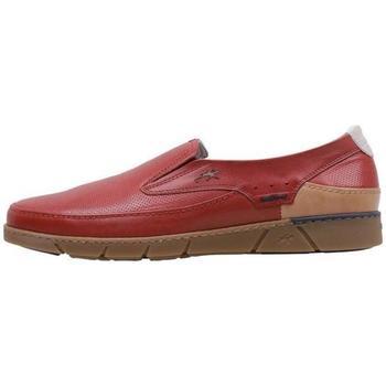Topánky Muži Mokasíny Fluchos  Červená